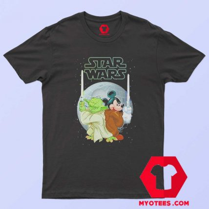 Yoda and Mickey Mouse SW Christmas T Shirt