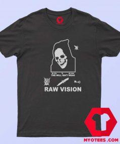 Alien Body Lil Peep Raw Vision Vintage T Shirt