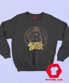 Altered Beast Circle Werewolf Sega Sweatshirt