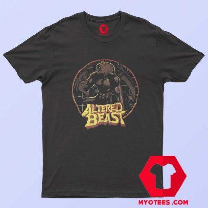 Altered Beast Circle Werewolf Sega T Shirt
