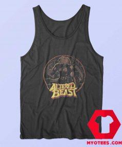 Altered Beast Circle Werewolf Sega Tank Top