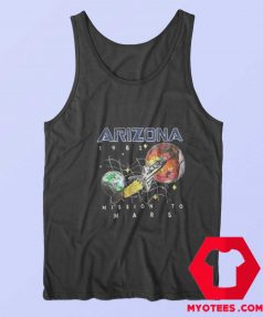 Arizona 1982 Space Mission To Mars Tank Top