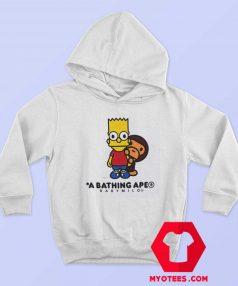 BAPE X The Simpsons Baby Milo Behind Hoodie