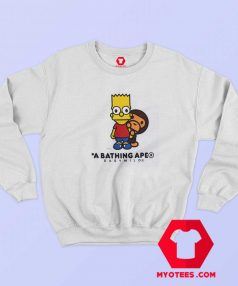 BAPE X The Simpsons Baby Milo Behind Sweatshirt