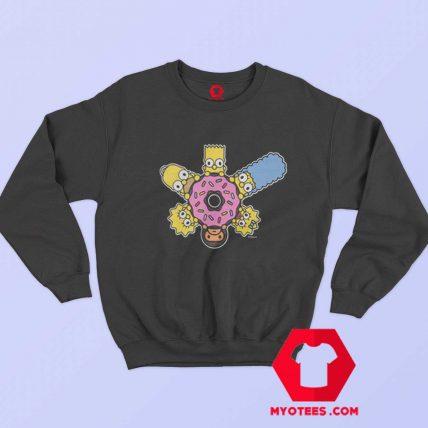 BAPE X The Simpsons Baby Milo Donut Sweatshirt