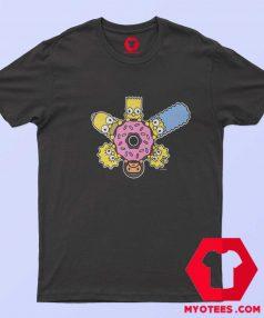 BAPE X The Simpsons Baby Milo Donut T Shirt