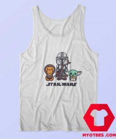 BAPE x Star Wars The Child Mandalorian Tank Top