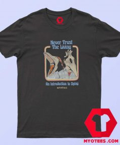 Beetlejuice Never Trust the Living Handbook T Shirt