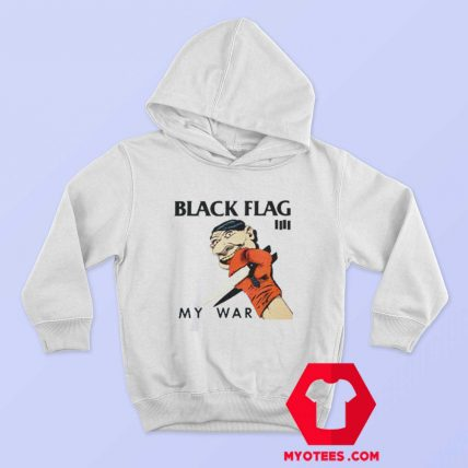 Black Flag My War Vintage Album Hoodie