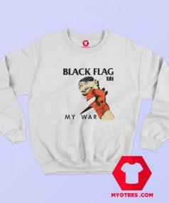 Black Flag My War Vintage Album Sweatshirt