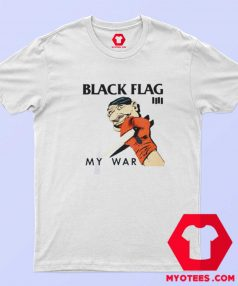 Black Flag My War Vintage Album T Shirt