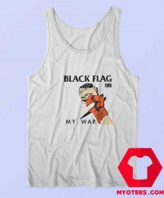 Black Flag My War Vintage Album Tank Top