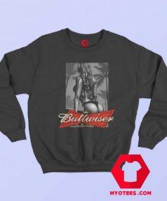 Buttwiser Babe Funny Parody Sweatshirt