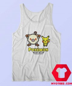 Cheap BAPE x Pokemon Mankey Tank Top