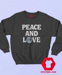 Cheap Stussy Peace Love Unisex Sweatshirt