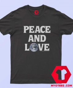Cheap Stussy Peace Love Unisex T Shirt