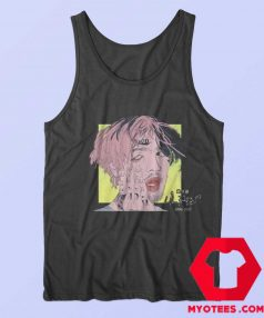Cool Lil Peep Rip Paint Rap Hip Hop Tank Top