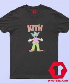 Cute Kith x The Simpsons Krusty Unisex T Shirt