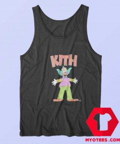 Cute Kith x The Simpsons Krusty Unisex Tank Top