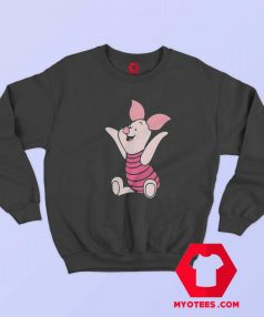 Cute Winnie The Pooh Piglet Cartoon Sweatshirt