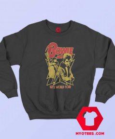David Bowie 1972 World Tour Sweatshirt