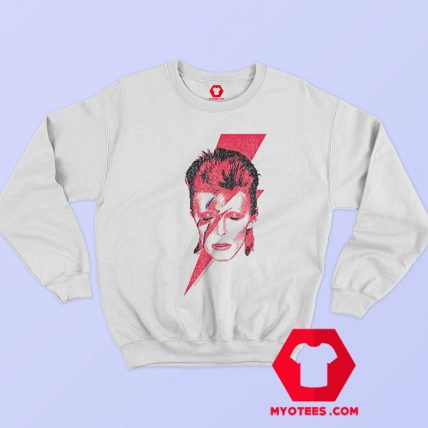 David Bowie Aladdin Sane Rock Album Sweatshirt