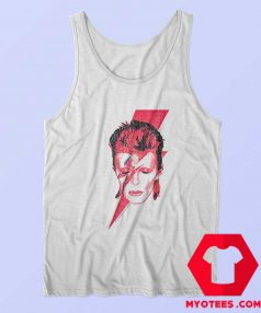 David Bowie Aladdin Sane Rock Album Tank Top