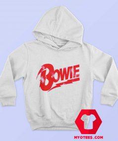 David Bowie Red Bowie Logo Unisex Hoodie
