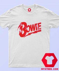David Bowie Red Bowie Logo Unisex T Shirt