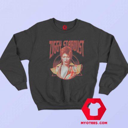 David Bowie Ziggy Stardust Photo Sweatshirt