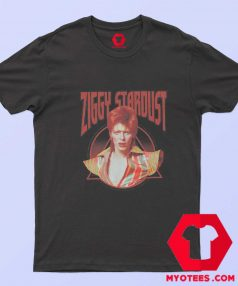 David Bowie Ziggy Stardust Photo T Shirt