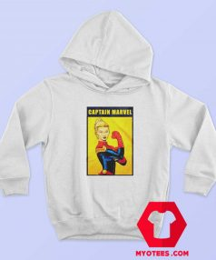 Funny Captain Marvel The Riveter Poster Hoodie