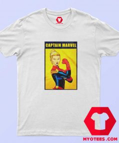 Funny Captain Marvel The Riveter Poster T Shirt