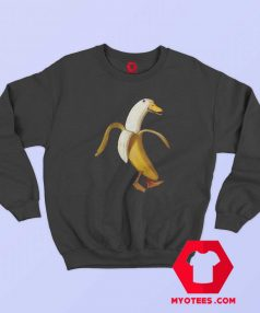 Funny Design Banana Duck Unisex Sweatshirt