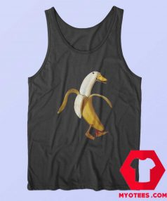 Funny Design Banana Duck Unisex Tank Top