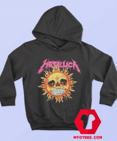 Funny Metallica Sun Skull Unisex Hoodie