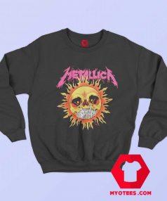 Funny Metallica Sun Skull Unisex Sweatshirt