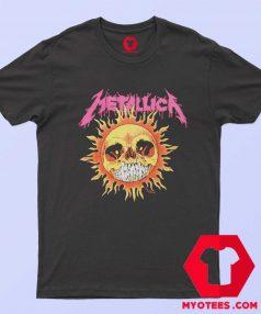 Funny Metallica Sun Skull Unisex T Shirt