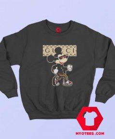 Funny Parody Gucci Mickey Mouse Sweatshirt