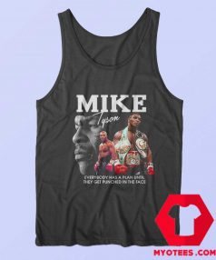 Iron Mike Tyson Legend Boxing Tank Top