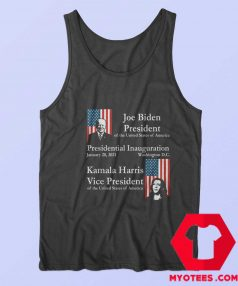Joe Biden Kamala Harris 2021 Unisex Tank Top