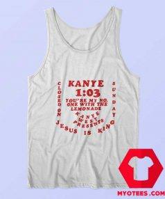 Kanye West One With The Lemonade Tank Top