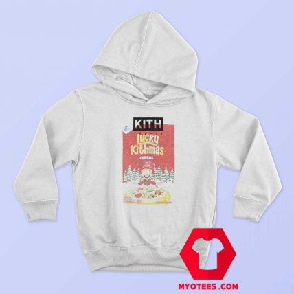 Kith Lucky Charms Cereal Box Vintage Hoodie