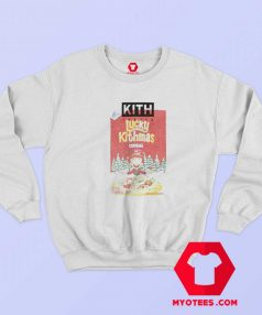 Kith Lucky Charms Cereal Box Vintage Sweatshirt