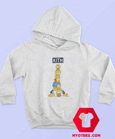 Kith x The Simpsons Family Stack Hoodie