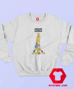 Kith x The Simpsons Family Stack Sweatshirt