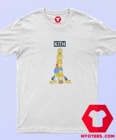 Kith x The Simpsons Family Stack T Shirt