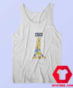 Kith x The Simpsons Family Stack Tank Top