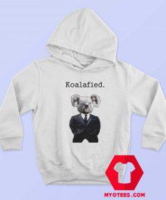 Koala Fied Funny Animal Graphic Hoodie
