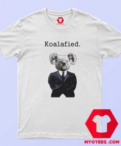 Koala Fied Funny Animal Graphic T Shirt